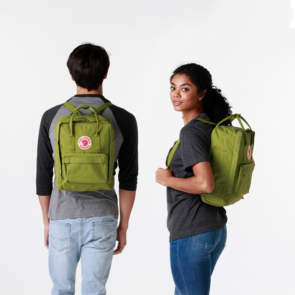 alternate view Fjallraven Kanken Backpack - GuacamoleALT1BADULT