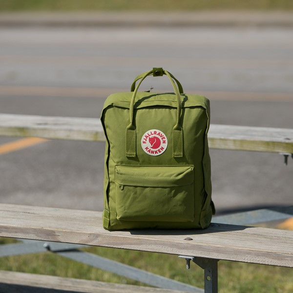 alternate view Fjallraven Kanken Backpack - GuacamoleALT1BB
