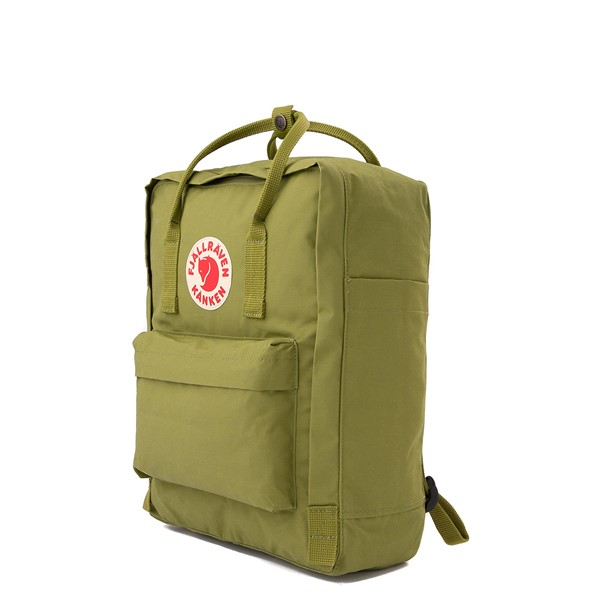 alternate view Fjallraven Kanken Backpack - GuacamoleALT4