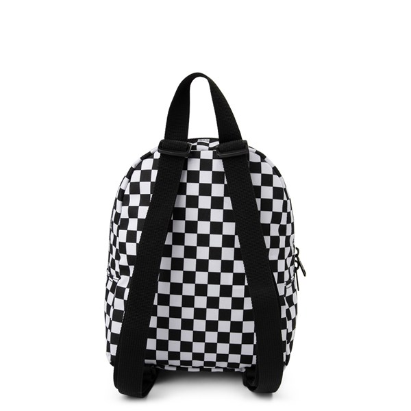 alternate view Vans Got This Checkered Mini Backpack - Black / WhiteALT1