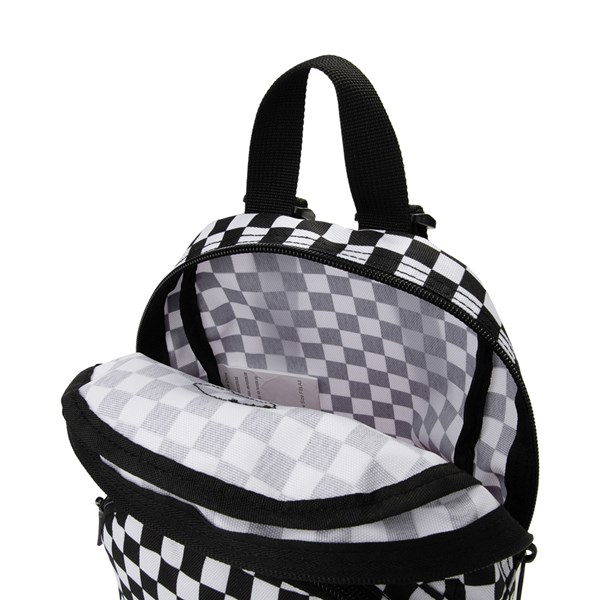 alternate view Vans Got This Checkered Mini Backpack - Black / WhiteALT3