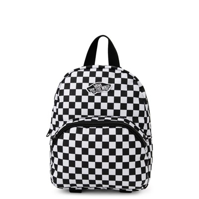 Main view of Vans Got This Checkered Mini Backpack - Black / White