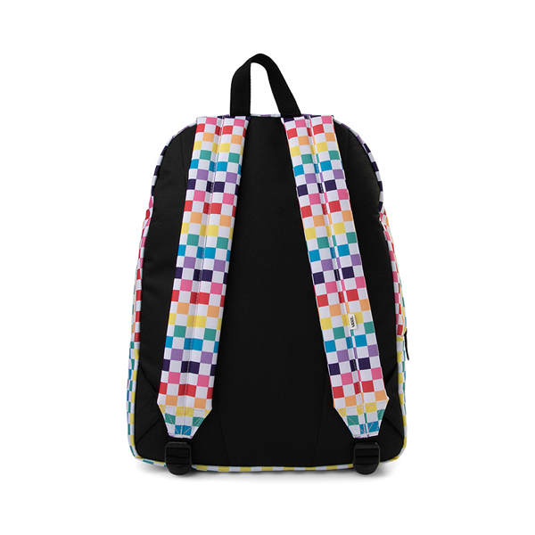 alternate view Vans Checkerboard Realm Backpack - RainbowALT2
