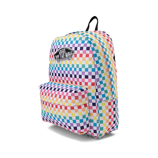 alternate view Vans Checkerboard Realm Backpack - RainbowALT4
