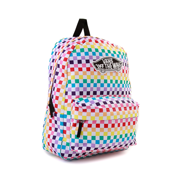 alternate view Vans Checkerboard Realm Backpack - RainbowALT4B