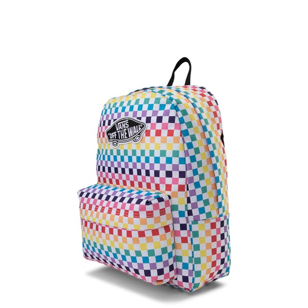 alternate view Vans Rainbow Checkerboard Realm Backpack - MultiALT2