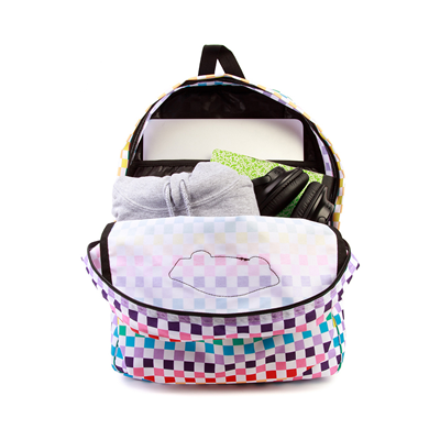 Alternate view of Vans Checkerboard Realm Backpack - Rainbow