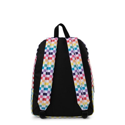 Alternate view of Vans Rainbow Checkerboard Realm Backpack - Multi