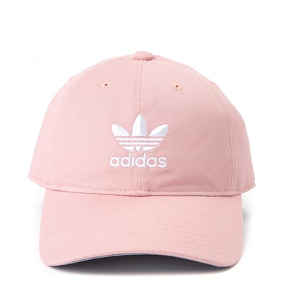 Main view of adidas Trefoil Relaxed Dad Hat - Pink