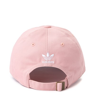 Alternate view of adidas Trefoil Relaxed Dad Hat - Pink
