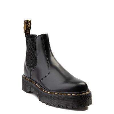 Alternate view of Dr. Martens 2976 Platform Chelsea Boot - Black
