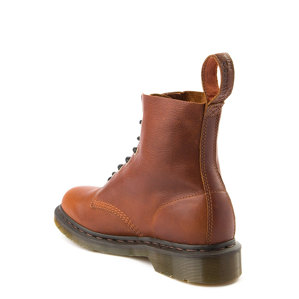 Dr. Martens 1460 Pascal 8 Eye Boot Tan