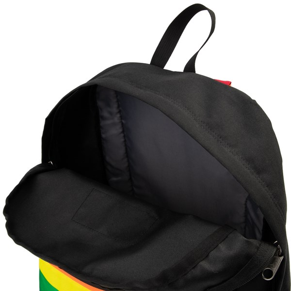 alternate view JanSport High Stakes Rainbow Dream Backpack - Black / MultiALT3