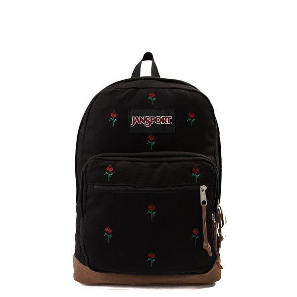 Main view of JanSport Right Pack Expressions Backpack - Black
