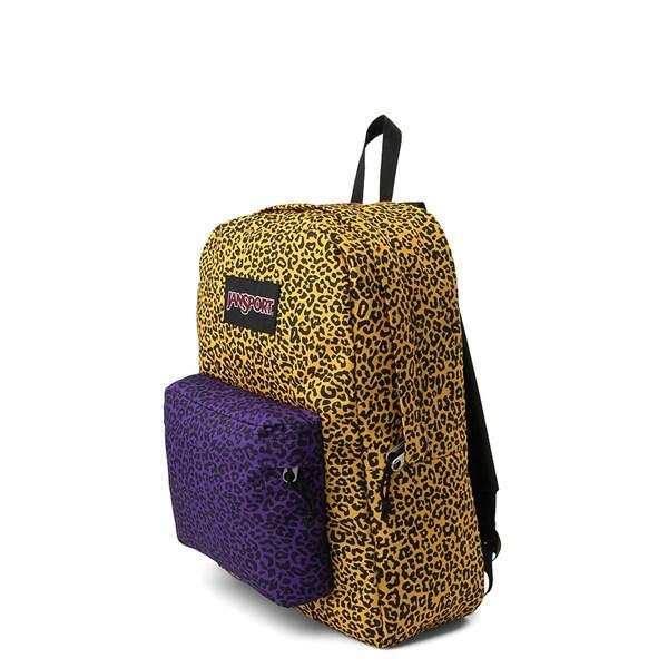 alternate view JanSport Ashbury Leopard Life BackpackALT2