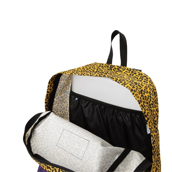 alternate view JanSport Ashbury Leopard Life BackpackALT4