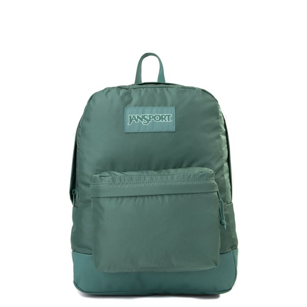 Main view of JanSport Superbreak Backpack - Blue Spruce Monochrome