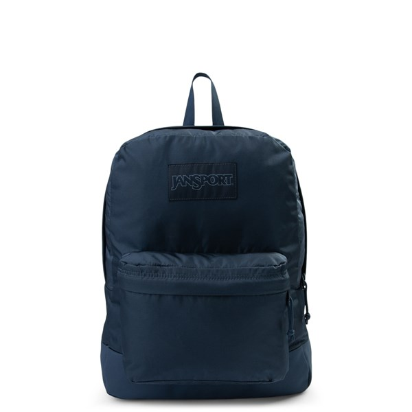 Main view of JanSport Superbreak Backpack - Dark Denim Monochrome