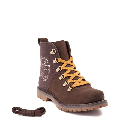 Alternate view of Womens Timberland Authentic Hiker Boot - Dark Brown