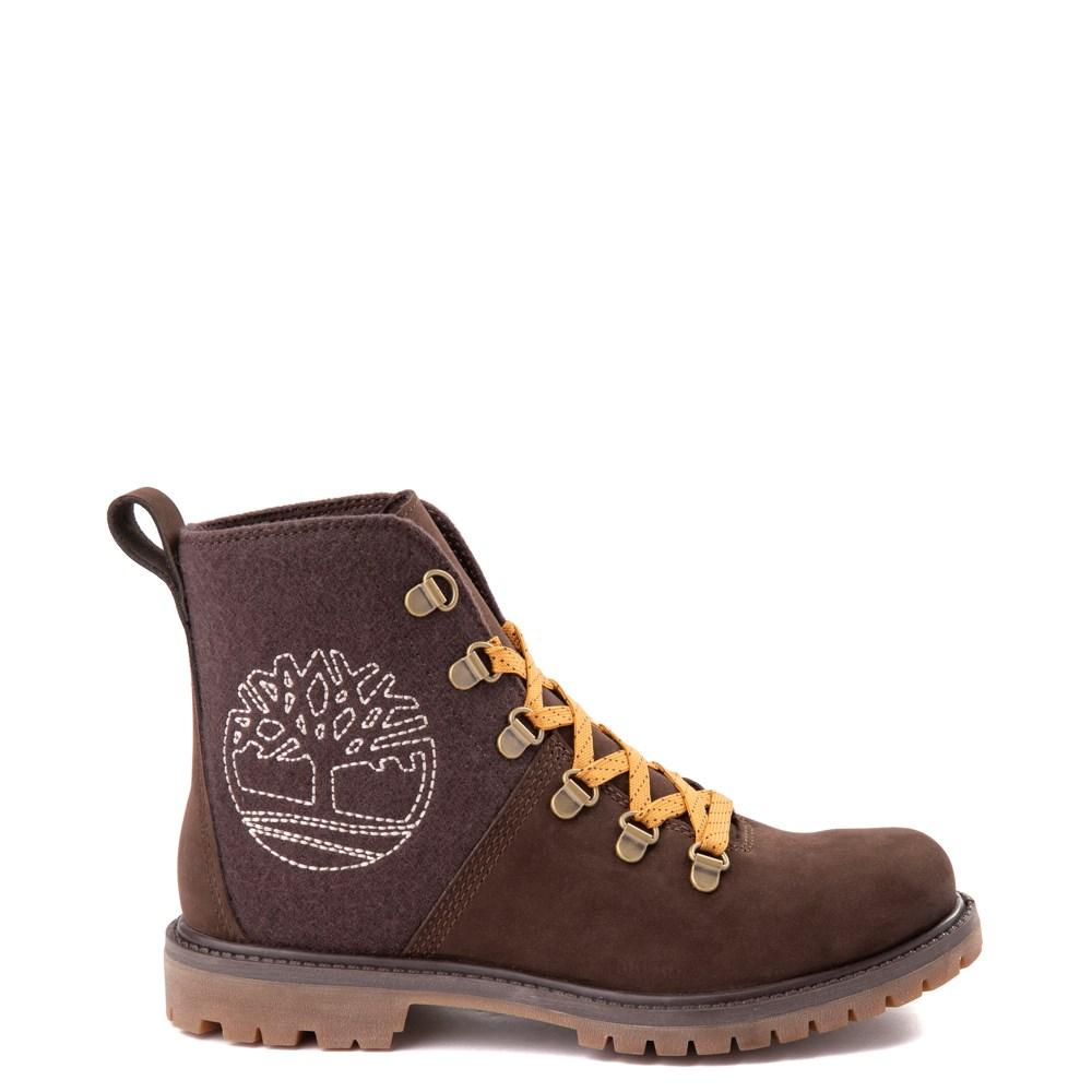 Womens Timberland Authentic Hiker Boot - Dark Brown
