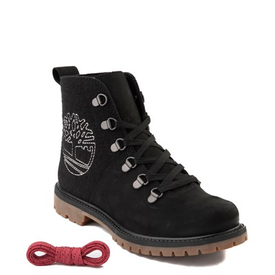 Alternate view of Womens Timberland Authentic Hiker Boot - Black