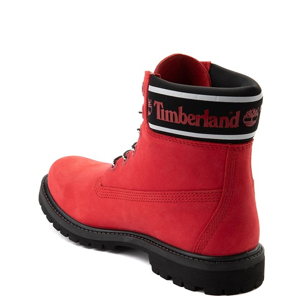 "alternate view Womens Timberland 6"" Premium Boot - Cherry RedALT2"
