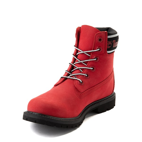 "alternate view Womens Timberland 6"" Premium Boot - Cherry RedALT3"
