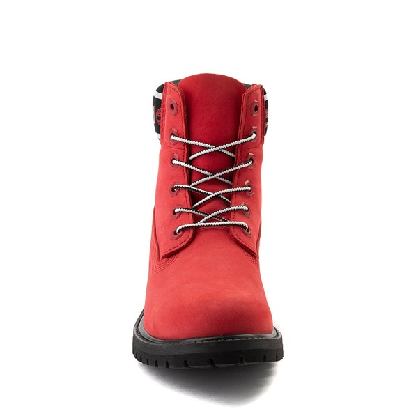 "alternate view Womens Timberland 6"" Premium Boot - Cherry RedALT4"