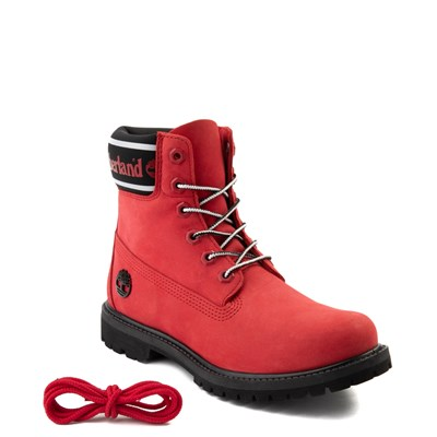 "Alternate view of Womens Timberland 6"" Premium Boot - Cherry Red"