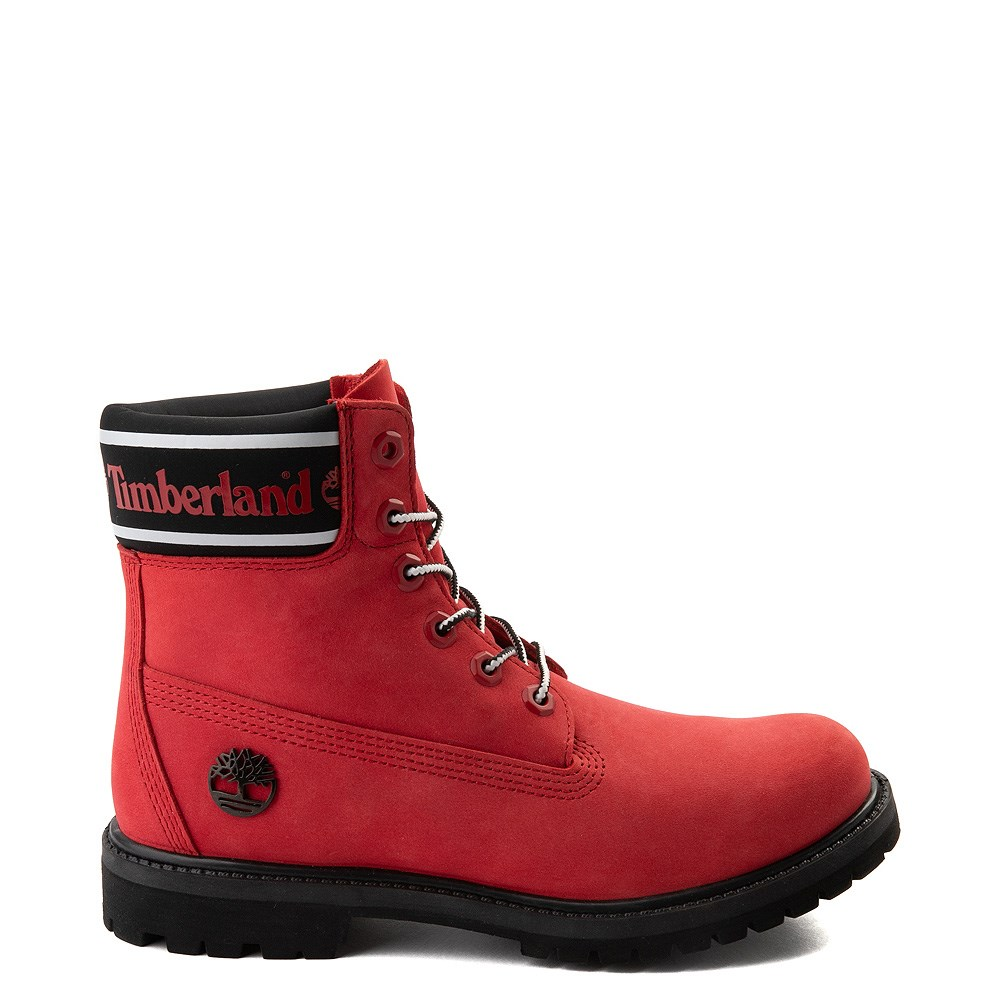 "Womens Timberland 6"" Premium Boot - Cherry Red"