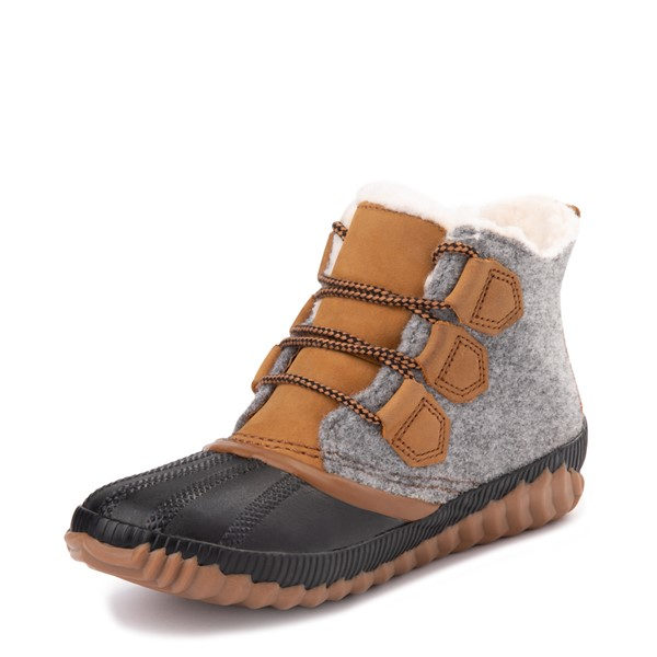 alternate view Womens Sorel Out N About™ Plus Felt Boot - QuarryALT2
