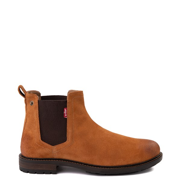 Mens Levi's Keith Chelsea Boot - Tan