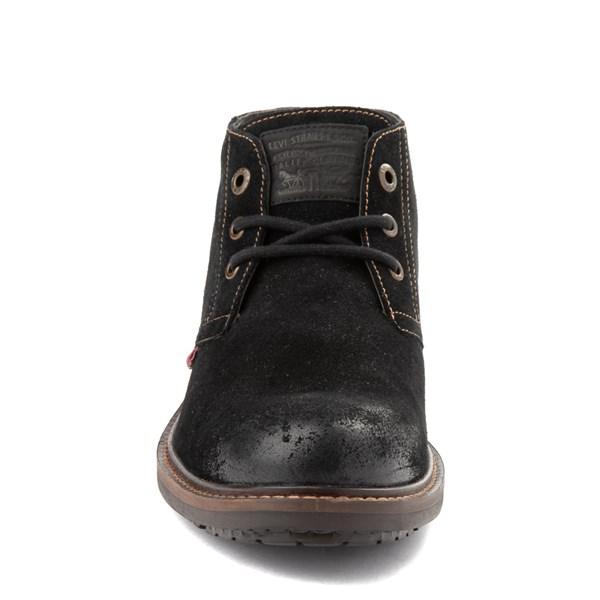 alternate view Mens Levi's Cambridge Chukka Boot - BlackALT4