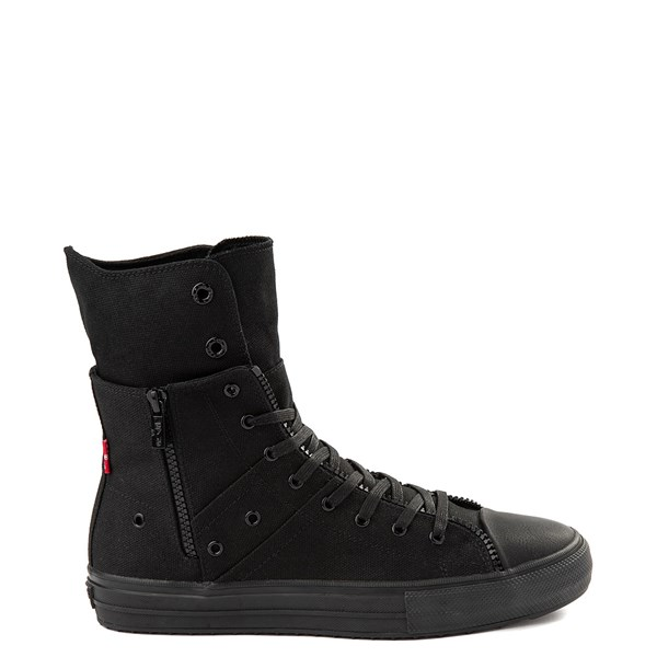 Mens Levi's Zip X Hi Casual Shoe - Black