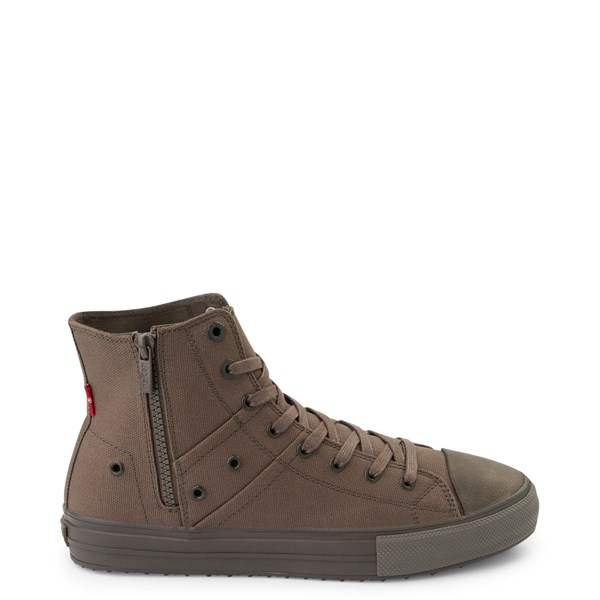 Main view of Mens Levi's Zip X Casual Shoe - Olive