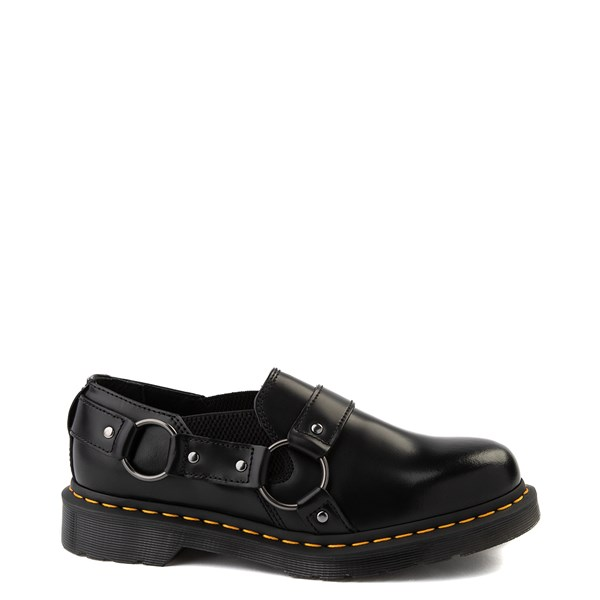 Main view of Dr. Martens Gilbey Slip On Casual Shoe - Black