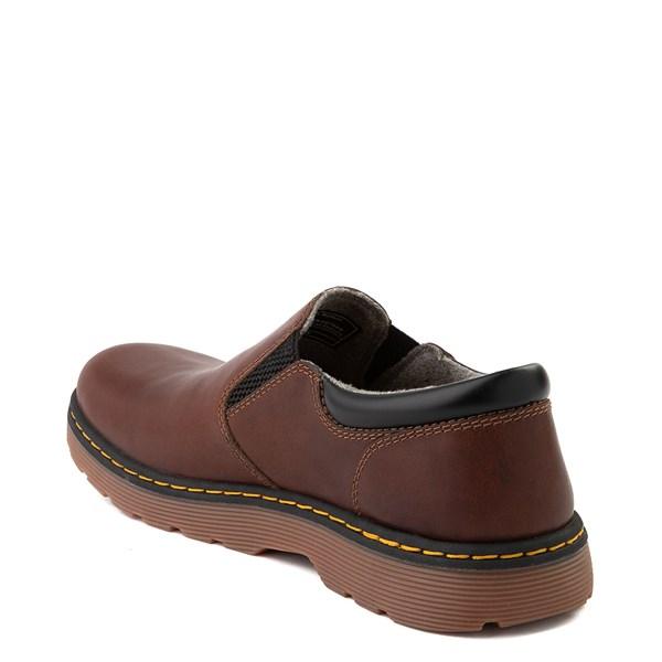 alternate view Mens Dr. Martens Tipton Slip On Casual Shoe - Dark BrownALT2
