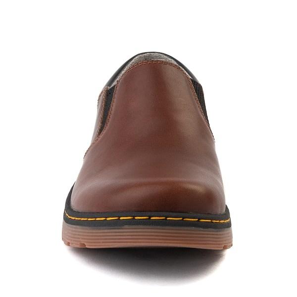 alternate view Mens Dr. Martens Tipton Slip On Casual Shoe - Dark BrownALT4