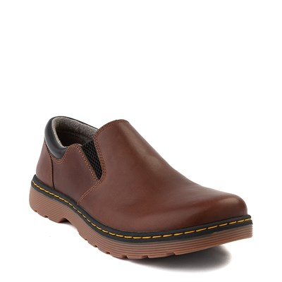 Alternate view of Mens Dr. Martens Tipton Slip On Casual Shoe - Dark Brown