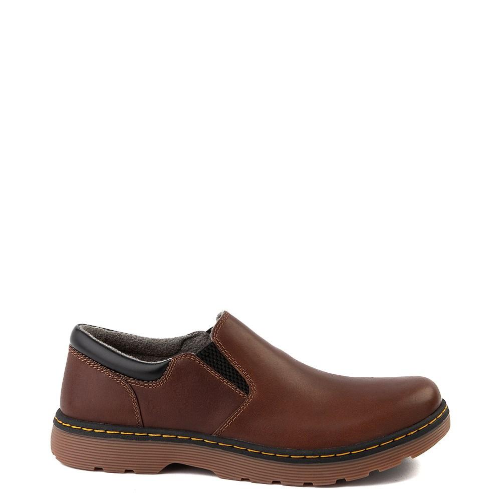 Mens Dr. Martens Tipton Slip On Casual Shoe - Dark Brown