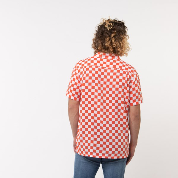 alternate view Mens Vans Checkerboard Camp ShirtALT1