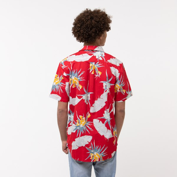 alternate view Mens Vans Arachnofloria Button Down ShirtALT1