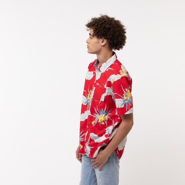 alternate view Mens Vans Arachnofloria Button Down ShirtALT2