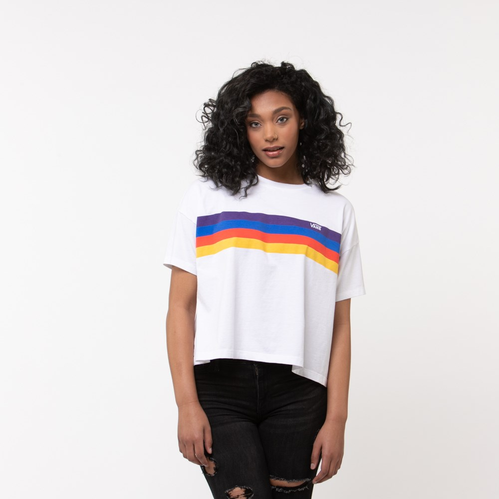 Womens Vans Rainee Cropped Tee