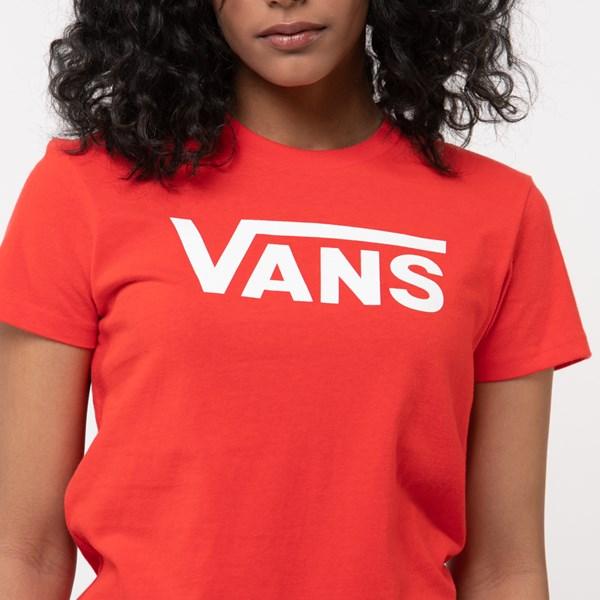 alternate view Womens Vans Classic Drop V TeeALT4