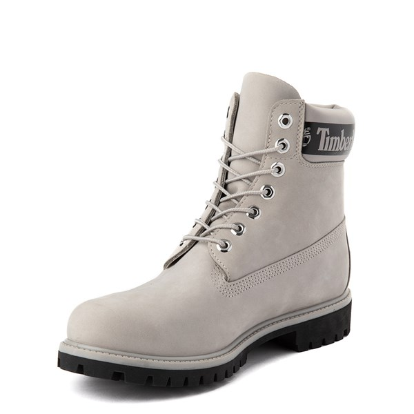 "alternate view Mens Timberland 6"" Classic Boot - Flint GrayALT3"