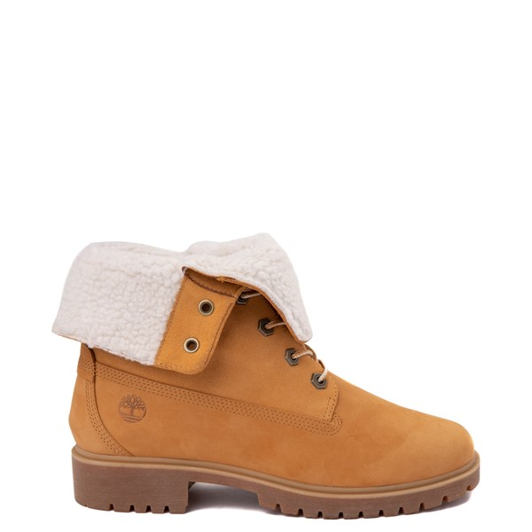 Main view of Womens Timberland Jayne Fleece Boot - Wheat