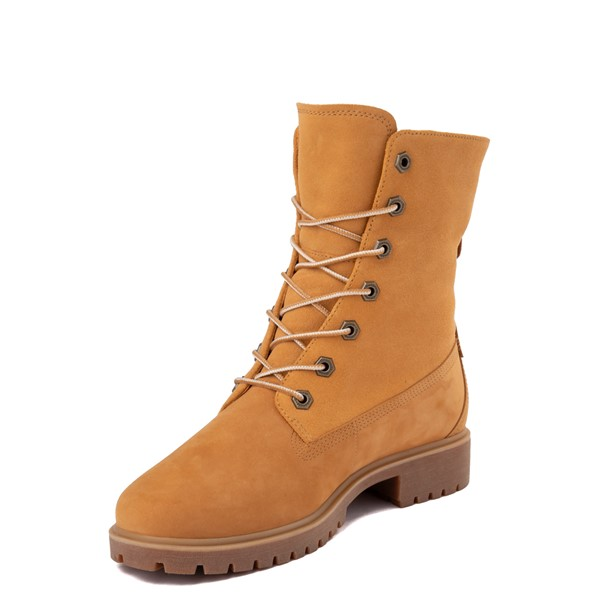 alternate view Womens Timberland Jayne Fleece Boot - WheatALT2