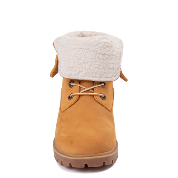 alternate view Womens Timberland Jayne Fleece Boot - WheatALT4