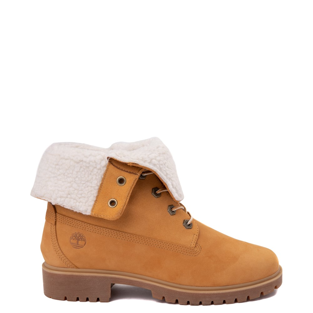Womens Timberland Jayne Fleece Boot - Wheat